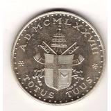 Medalla Papa Juan Pablo Ii Plata Vaticano Año 1978 Totus Tuu