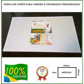 Tabua De Corte Polietileno Para Carnes Profissional Promoção