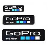 Stickers Pegotines Calcos Gopro Hero X 6 Unidades Medidas