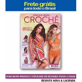 Revista Circulo Croche Especial Moda Praia N°08 Frete Gratis