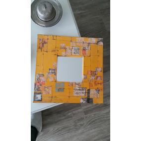 Espejos Artesanales Realizados Con Tecnica De Decoupage