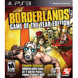 Borderlands Game Of The Year Edition - Digital Ps3