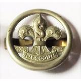 Scout Pin Insignia Sombrero De Antiguo Dirigente Excelente!