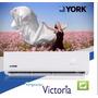 Equipo Aire Acondicionado York 3000 Frió Calor. Clase A