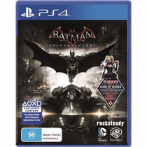Batman Arkham Knigh .-1°-ps4