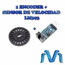 1 Encoder + Sensor De Velocidad Lm393