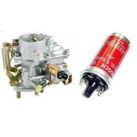 Carburador Fusca Kombi Brasilia Gasolina + Bobina 9220081067