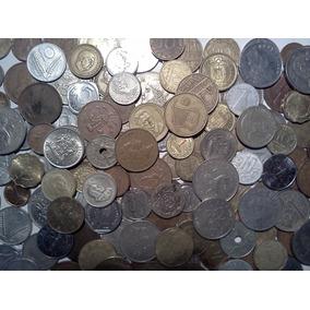 Lote De 50 Antiguas Monedas Surtidas Varios Países