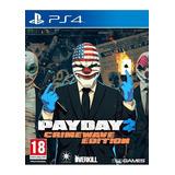 Payday 2 Crimewave Edition Ps4 Fisico Nuevo Sellado