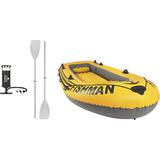 Bote Barco Inflável Fishman 400 - 4 Pessoas Bomba Remos Mor