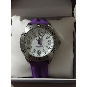 Reloj Náutica Para Dama Color Morado