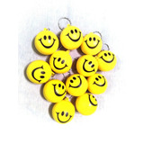 Pelota Emoji Llavero Anti Stress Nenas Nenes Souvenir