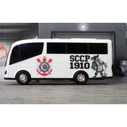 Miniatura Micro-ônibus Corinthians