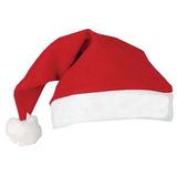 Kit 3 Gorro De Papai Noel - Touca Para Natal