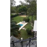 Casa Quinta 5 Ambientes, 2 Baños, Quincho Y Pileta Con Luces