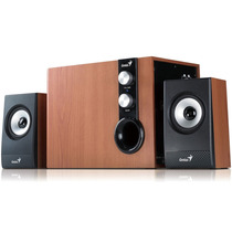 Parlantes Genius 2.1 Sp Hf1205 Subwoofer 32w Pc Tv Mexx 2