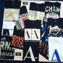Kit 10 Camisetas Armani Ax Atacado Originais