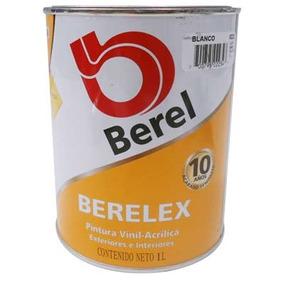 Pintura Vinilica Berelex 223-4 Blanco (1 Lt) Berel