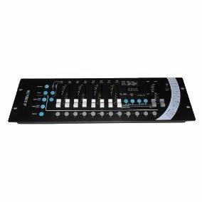Mesa P/ Iluminação Dmx Controladora Ah Lights Ah047 - Oferta