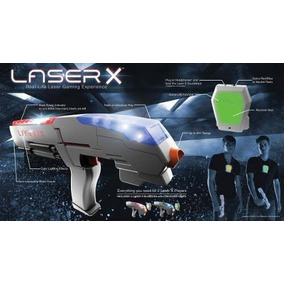 Armas + Coletes Jogo Original Laser X Dupla 2 Players Oferta