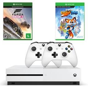Cb Xbox One S 500gb+forza Horizon 3+super Luckys T+controle