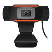Webcam Camara Web Pc Con Microfono Usb Hd 720p Zoom Noga 110