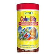 Ração Tetra Color Bits 75g Para Peixes Tropicais