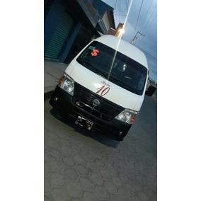 Nissan Urvan 2.5 Dv Panel Larga Mt 2009 Con Permiso
