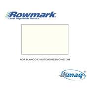 Plancha Bicapa Laserable Rowmark Ada Adhesivo Negro 120x60