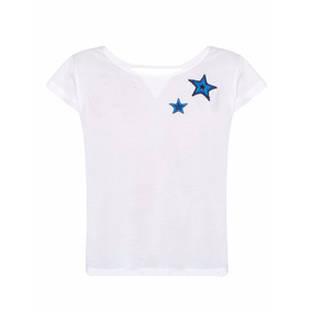Remera Mujer Wanama Blanco Tyra The Net Boutique