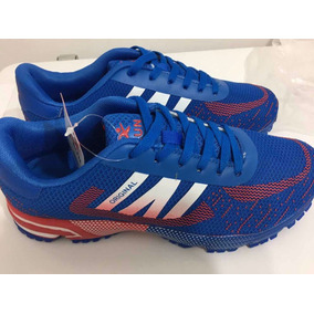 Zapatillas Running I-run Azul Con Rojo - Ultimos Pares!!