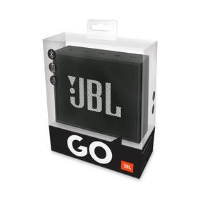 Caixa De Som Jbl Go Preto Original Bluetooth Com Nota Fiscal