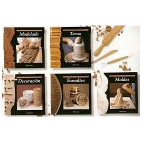 Libros: Aula De Ceramica . Coleccion 5 Volumenes . Parramon