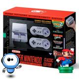 Super Nintendo Mini Snes G R A T I S 2 Controles + 21 Juegos