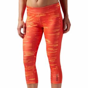 Leggins Malla Deportiva Workout Ready Mujer Reebok Bk5079