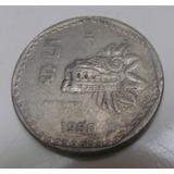 Moneda 5 Pesos Quetzalcoatl Mexico 1980