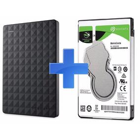 Hd 1tb Novo Sata 3 Slim Seagate + Case P Hd Notebook Usb 3.0