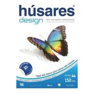 Resma Husares Design A4 100 Hojas 150 Grs Blanco