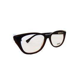 Armação Oculos Gatinha Gucci - Óculos Marrom escuro no Mercado Livre ... 5b8e236de7