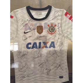 Camisa Corinthians (mundial 2012) Autografada