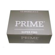 Preservativos Prime Super Fino 24 Cajitas X 3 Unidades