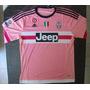 Camiseta Suplente Juventus Manga Larga 2015 2016 Rosa Pogba