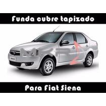 Funda Cubre Asiento Cuero Automotor T/bufalo Fiat Siena. Mkr