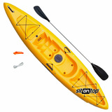 Kayak De Pesca Para 1 Persona Sunrider Sit On Top + Pala Mar