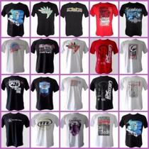 Camisas Kit C/ 10 Camisetas Camisas Masculinas Atacado
