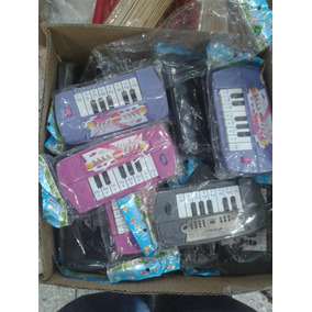 Mini Teclados Piano Juguete Musical De Pila Solo Queda Gris