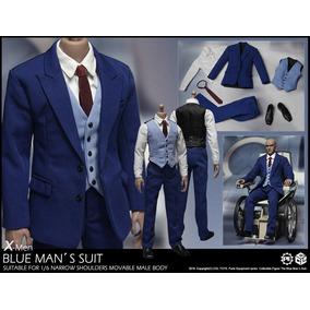 Hot Cgl Toys Traje Azul Nuevo1/6 Iron Man X Men Batman
