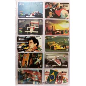 Cartões Telefônicos: Ayrton Senna Do Brasil