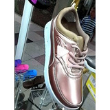 Zapatos Deportivo Para Dama Marca Cité Color Oro Rose