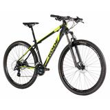 Bicicleta Kode Attack 29 Mountain Bike Preto/amarela Mtb